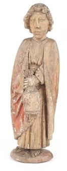 Sculpture Św. Jan z grupy Ukrzyżowania