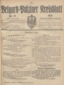 Belgard-Polziner Kreisblatt, 1921, Nr 37