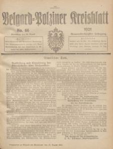 Belgard-Polziner Kreisblatt, 1921, Nr 66