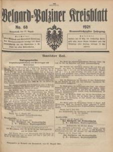 Belgard-Polziner Kreisblatt, 1921, Nr 68