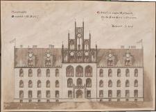 Entwurf zu einem Rathaus für die Stadt Stolp in Pommern