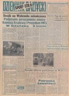Dziennik Bałtycki, 1980, nr 189