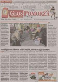 Głos Pomorza, 2011, październik, nr 254