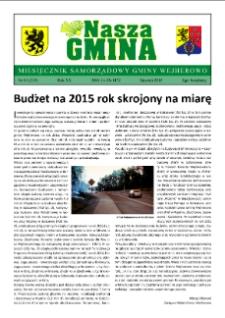 Nasza Gmina. Miesięcznik Samorządowy Gminy Wejherowo, 2015, styczeń, Nr 01, (219)