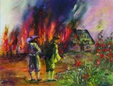 Płonące chëcze w Chałupach