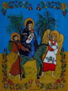 Ucieczka Świętej Rodziny do Egiptu przed prześladowcą Herodem