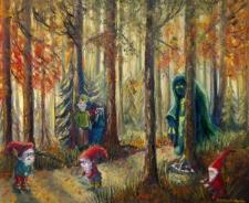 Klucz. Zdrzadniô I. W Mirochòwsczim Lese