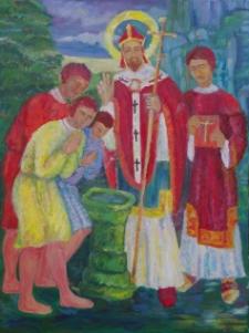 Chrzest Gdańszczan przez św. Wojciecha