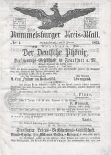 Rummelsburger Kreisblatt 1862