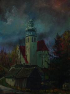 Kościół i zabudowa w Górze