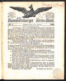 Rummelsburger Kreisblatt 1860