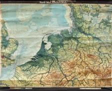 Niemcy północno-zachodnie - mapa geofizyczna