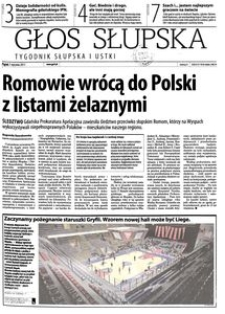 Głos Słupska : tygodnik Słupska i Ustki, 2011, styczeń, nr 4