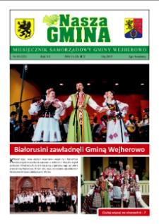 Nasza Gmina. Miesięcznik Samorządowy Gminy Wejherowo, 2015, maj, Nr 05 (223)