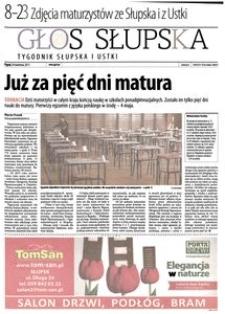 Głos Słupska : tygodnik Słupska i Ustki, 2011, kwiecień, nr 99