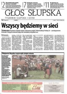Głos Słupska : tygodnik Słupska i Ustki, 2011, sierpień, nr 192