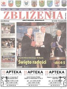 Zbliżenia : dwutygodnik regionalny, 2014, nr 12