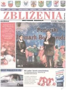 Zbliżenia : dwutygodnik regionalny, 2014, nr 15