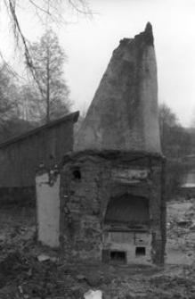 Komin w chałupie robotniczej z I poł. XIX wieku - Borsk