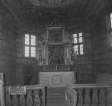 Kościół zrębowy, jednonawowy z ok. 1700 roku - Swornegacie