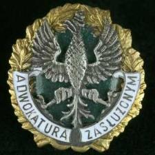 """Odznaka """"Adwokatura Zasłużonym"""" + Legitymacja nr 281/94"""