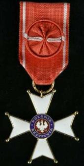 Krzyż Oficerski Orderu Odrodzenia Polski + Legitymacja Nr 89-2002-3