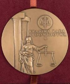 Medal - Krajowa Rada Sądownictwa
