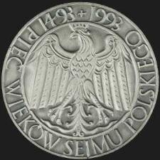 Medal - Pięć Wieków Sejmu Polskiego 1493-1993