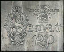 Medal - Dobro Rzeczypospolitej Najwyższym Prawem 1493-1993 - Senat RP