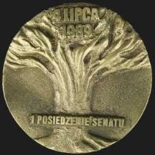 Medal - 4 lipca 1989 I Posiedzenie Senatu