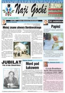 Naji Gochë : dwumiesięcznik społeczno-kulturalny, 2002, nr 5