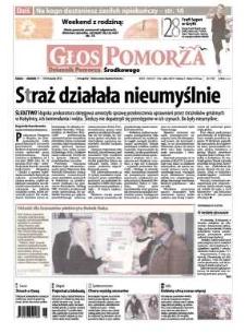 Głos Pomorza, 2012, listopad, nr 269