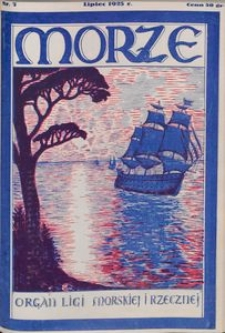Morze, 1925, nr 7