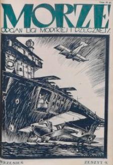 Morze, 1925, nr 9