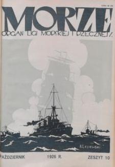 Morze, 1926, nr 10