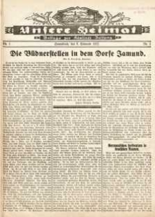 Unsere Heimat. Beilage zur Kösliner Zeitung Nr. 1/1932