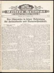 Unsere Heimat. Beilage zur Kösliner Zeitung Nr. 4/1932