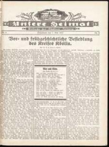 Unsere Heimat. Beilage zur Kösliner Zeitung Nr. 6/1932
