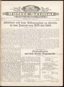 Unsere Heimat. Beilage zur Kösliner Zeitung Nr. 10/1932
