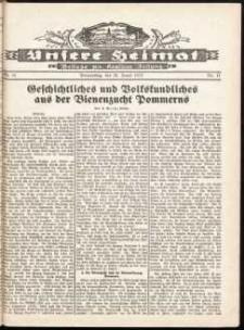 Unsere Heimat. Beilage zur Kösliner Zeitung Nr. 11/1932