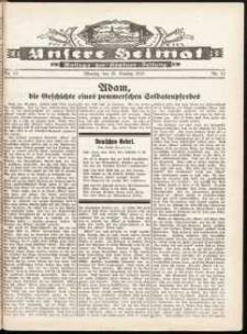 Unsere Heimat. Beilage zur Kösliner Zeitung Nr. 13/1932