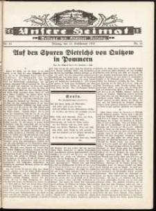 Unsere Heimat. Beilage zur Kösliner Zeitung Nr. 14/1932