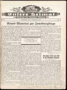 Unsere Heimat. Beilage zur Kösliner Zeitung Nr. 17/1932