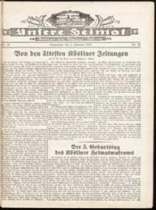 Unsere Heimat. Beilage zur Kösliner Zeitung Nr. 20/1932