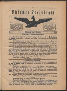 Bütower Kreisblatt 1906
