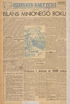 Dziennik Bałtycki, 1949, nr 1