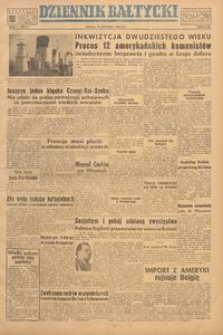 Dziennik Bałtycki, 1949, nr 17