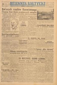 Dziennik Bałtycki, 1949, nr 21