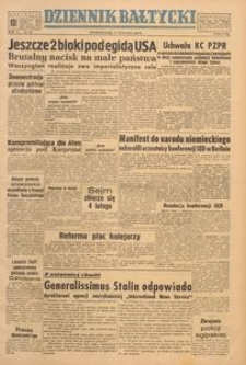 Dziennik Bałtycki, 1949, nr 30