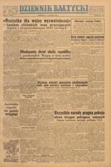 Dziennik Bałtycki, 1949, nr 36